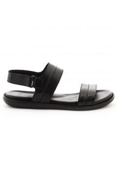 Dr.Flexer 477 Hakiki Deri Erkek Sandalet Siyah(120459525)