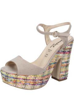 Sandales Geneve Shoes sandales beige daim BZ890(115399062)