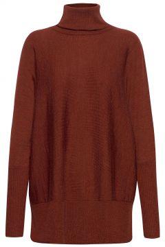 Wide Turtleneck Rollkragenpullover Poloshirt Rot CATHRINE HAMMEL(121110384)