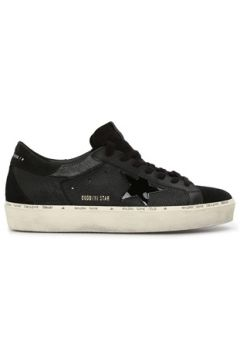 Golden Goose Erkek Hi Star Siyah Deri Sneaker 39 EU(117653050)