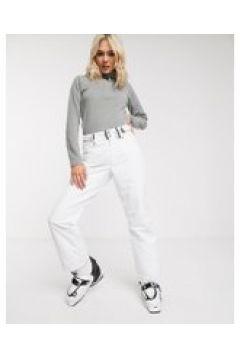 Surfanic - Glow Surftex - Pantaloni da sci bianchi-Bianco(120938329)