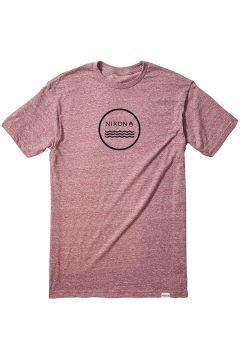 Nixon Waves III T-Shirt rood(85182182)