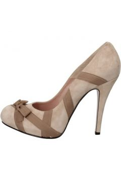 Chaussures escarpins D-marra D escarpins beige daim textile AD147(115393691)