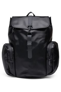 Over Rucksack Bags Backpacks Casual Backpacks Schwarz RAINS(118642494)