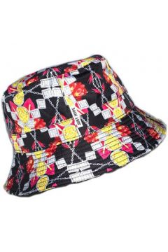 Chapeau Hype Bob Jewellery Floral Noir et Jaune(98733976)