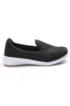 FAST STEP Siyah Beyaz Kadın Yürüyüş Ayakkabı 925za1017(116837002)