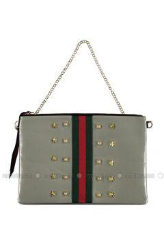 Gray - Clutch Bags / Handbags - Marjin(110338004)