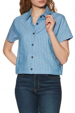 Top Femme RVCA Jefferson - Green Stripe(111333145)