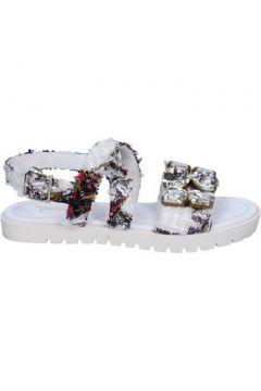 Sandales Ioannis sandales blanc textile strass BT873(98485221)