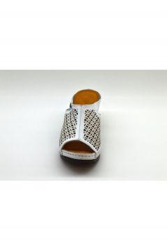 PALOMA Kadın Beyaz Sabo Zımbalı Terlik Xy4(124151081)