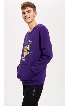 DeFacto Erkek NBA Lisanslı Unisex Oversize Fit Sweatshirt(125927978)