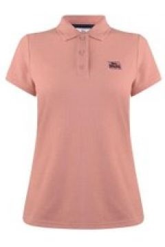Lonsdale Lion Polo Shirt Ladies - Pink(97177841)