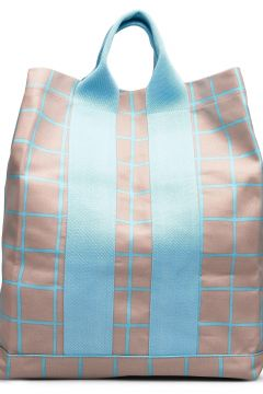Kaino Iso Ruutu Bag Bags Shoppers Casual Shoppers Beige MARIMEKKO(117871524)