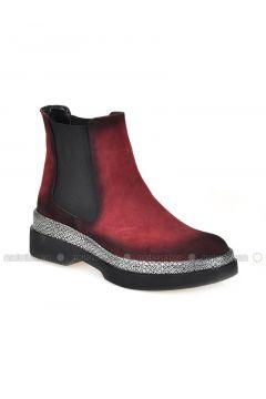 Maroon - Boot - Boots - Vizon(110330336)