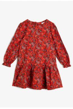 Koton Kız Çocuk Desenli Elbise(108972442)