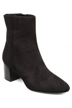 Plan Low Rounded Bootie Shoes Boots Ankle Boots Ankle Boots With Heel Schwarz APAIR(114160009)