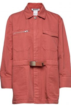 Carry Jacket Outerwear Jackets Utility Jackets Pink HOPE(117869862)