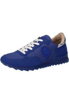 Baskets Invicta sneakers bleu textile daim AB56(115393807)