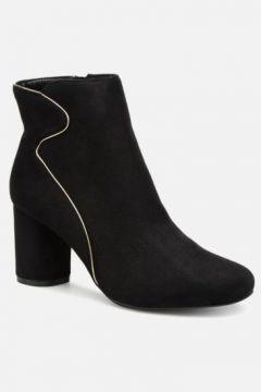 SALE -30 Divine Factory - QL3430 - SALE Stiefeletten & Boots für Damen / schwarz(111575944)