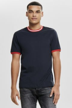 Only & Sons Lacivert T-Shirt(123481429)