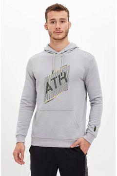 DeFacto Erkek Kapüşonlu Slim Fit Spor Sweatshirt(125929106)