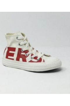 Baskets Converse Kids CONVERSE CTAS HI NATURAL/RED(88519560)
