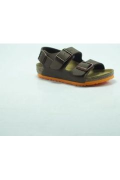 Sandales Birkenstock Kids BIRK MILANO DESERT MARRON/ORANGE(88517566)