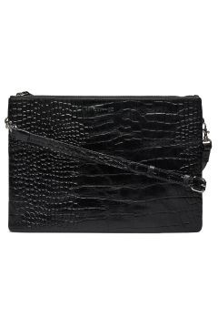 Kira Double Big Croco Bags Small Shoulder Bags - Crossbody Bags Schwarz WHYRED(114165889)