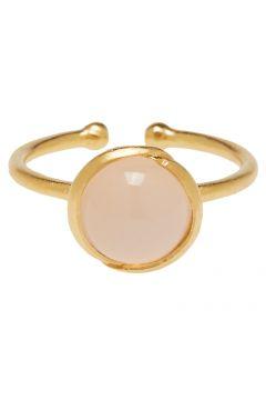 Aura Rose Ring Adj. Ring Schmuck Gold PERNILLE CORYDON(115544155)