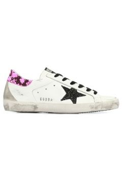 Golden Goose Kadın Superstar Beyaz Doku Detaylı DeriSneaker Pembe 37 EU(107373577)