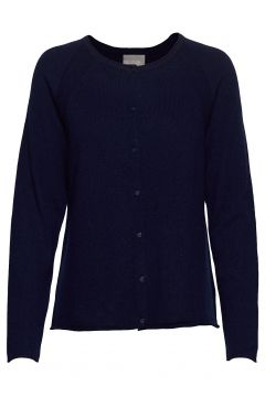 Cualaia Cardigan Cardigan Strickpullover Blau CULTURE(109274342)