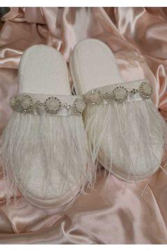ASIMOD Bride Tüylü Terlik Set(116841205)