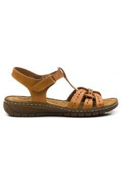 CARLA VERDE Hakiki Deri Kadın Sandalet L.060(114218947)