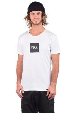 YES Box Logo T-Shirt wit(98384277)