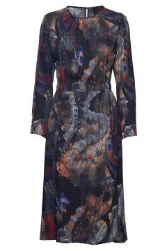 Gathered Dress Kleid Knielang Bunt/gemustert DIANA ORVING(114164126)