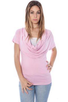 T-shirt Nancy N. NANCY N. A28017 Tricot avec les manches courtes Femme ROSA R2(115584225)