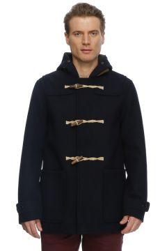Jack & Jones Vnova Duffel Coat Dark Navy Mont(113957945)