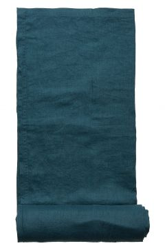 Table Cloth Washed Linen Home Kitchen Tablecloth Blau GRIPSHOLM(109112097)