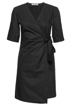 Althea Ss Short Dress 11332 Kleid Knielang Schwarz SAMSØE SAMSØE(114164493)