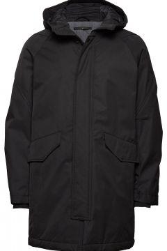 Padded Parka Coat Gefütterte Jacke Schwarz JUNK DE LUXE(114153213)