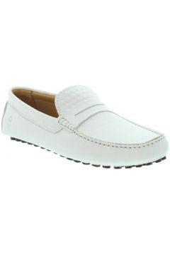 Chaussures Les Mocassins Tropéziens Mocassins les tropéziens ref_lmc46138 Blanc(98511949)