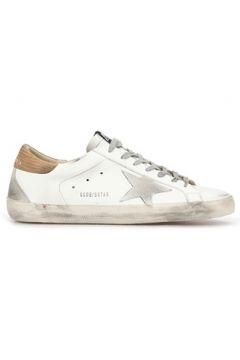 Golden Goose Erkek Superstar Eskitme Görünümlü Deri Sneaker Beyaz 39 EU(117653049)