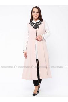 Powder - Unlined - Plus Size Suit - Butik Neşe(110335600)