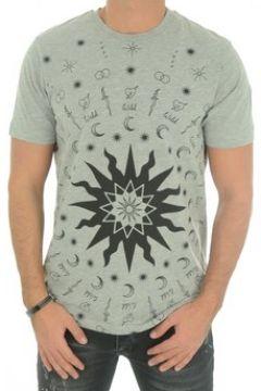 T-shirt John Richmond Tee Shirt Coton Printé Matrinca -(88696090)