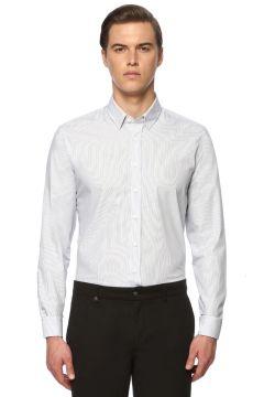George Hogg Lacivert-Beyaz Gömlek(113989130)