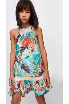 Tyess B&G Renkli Kız Çocuk Elbise(114005912)