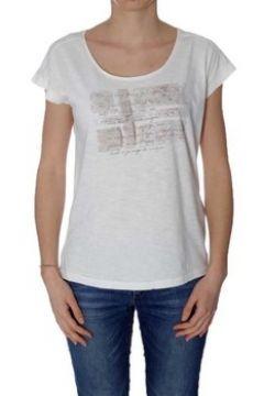 T-shirt Napapijri SANDINO BEIGE(115439284)