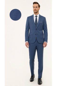 Pierre Cardin Slim Fit Koyu Mavi Takım Elbise(124927275)