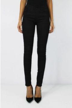 Jeans skinny Kebello Jeans Slim Push Up F Noir(115441470)
