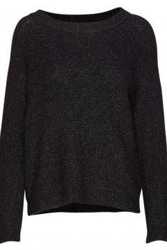 05 The Knit Pullover Strickpullover Schwarz DENIM HUNTER(95002221)
